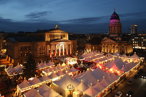 Christmas Markets Open Across Germany Photograph by Sean Gallup