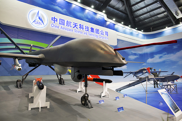 Inside The China International Aviation & Aerospace Exhibition Photograph by Bloomberg