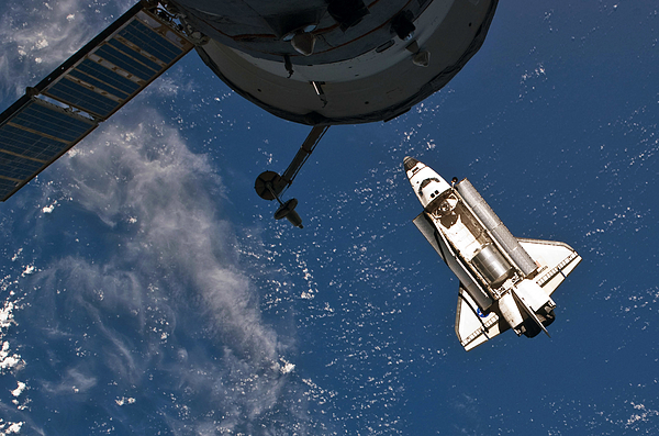 Mission To ISS Continues For NASAs Final Space Shuttle Flight Photograph by Nasa