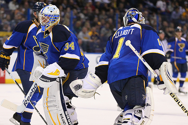 Nashville Predators v St. Louis Blues Photograph by Dilip Vishwanat