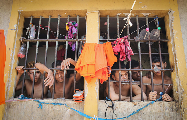 Notorious Brazilian Prison Strives For Reform Photograph by Mario Tama