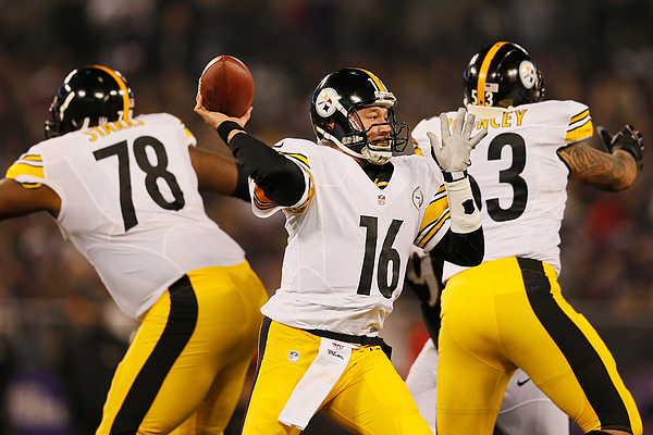 Pittsburgh Steelers v Baltimore Ravens Photograph by Rob Carr