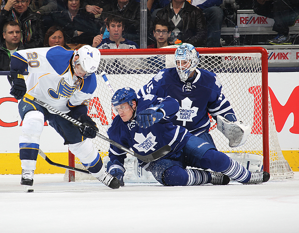 St. Louis Blues v Toronto Maple Leafs Photograph by Claus Andersen
