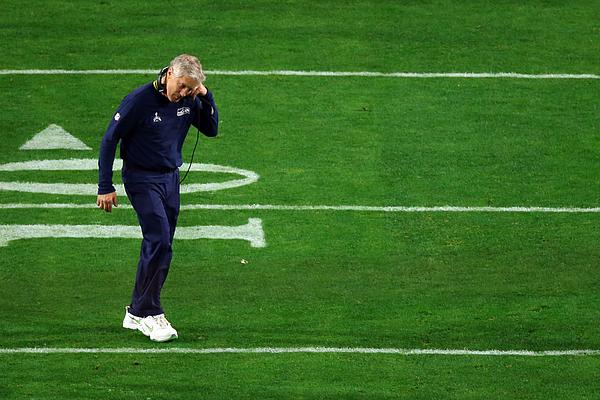 Super Bowl XLIX - New England Patriots v Seattle Seahawks Photograph by Mike Ehrmann