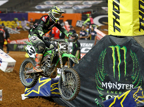 AUTO: FEB 25 Monster Energy AMA Supercross - Atlanta Photograph by Icon Sportswire