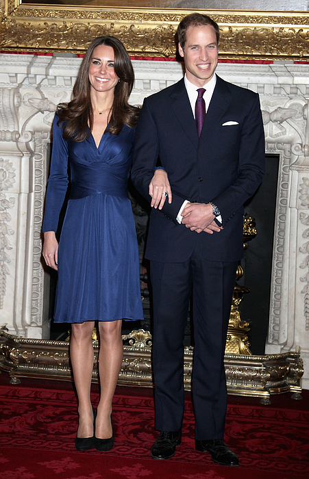 Clarence House Announce The Engagement Of Prince William To Kate Middleton Photograph by Chris Jackson