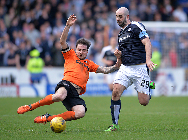 Dundee United v Dundee - Ladbrokes Scottish Premiership Photograph by Mark Runnacles