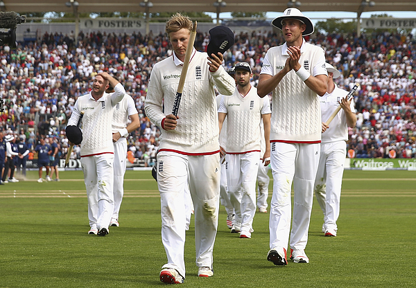 England v Australia: 1st Investec Ashes Test - Day Four Photograph by Ryan Pierse