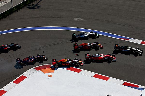 F1 Grand Prix of Russia Photograph by Clive Mason