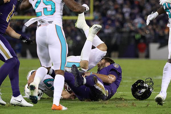Miami Dolphins v Baltimore Ravens Photograph by Patrick Smith