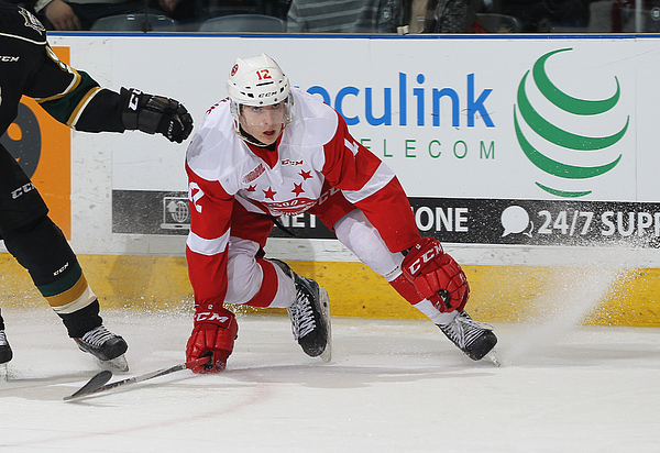 Sault Ste Marie Greyhounds v London Knights Photograph by Claus Andersen