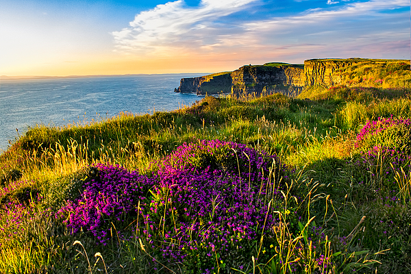 Scenic View Of Cliffs Of Moher, Liscannor, Ireland Photograph by Mikroman6