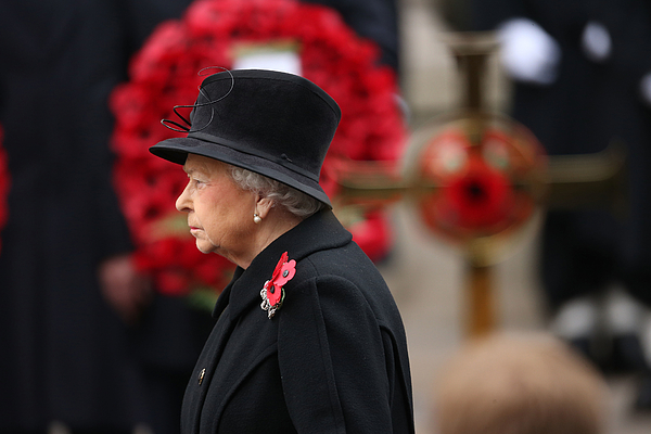 The UK Observes Remembrance Sunday Photograph by Chris Jackson