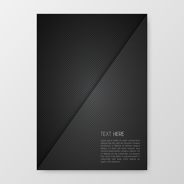 Brochure template layout, cover design, business annual report, flyer, magazine Drawing by Bgblue