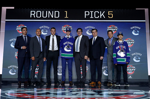 2017 NHL Draft - Round One Photograph by Bruce Bennett