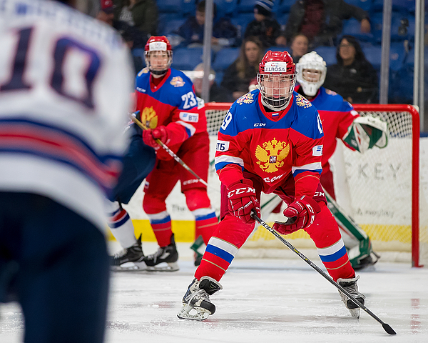 2018 Under-18 Five Nations Tournament - Russia v USA Photograph by Dave Reginek