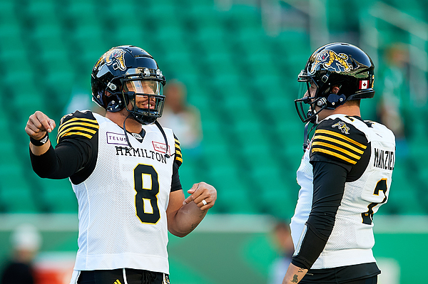 Hamilton Tiger-Cats v Saskatchewan Roughriders Photograph by Brent Just