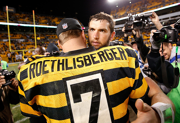Indianapolis Colts v Pittsburgh Steelers Photograph by Joe Robbins