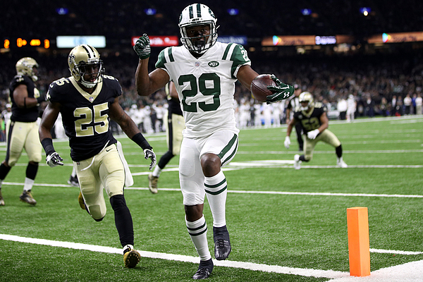 New York Jets vNew Orleans Saints Photograph by Chris Graythen