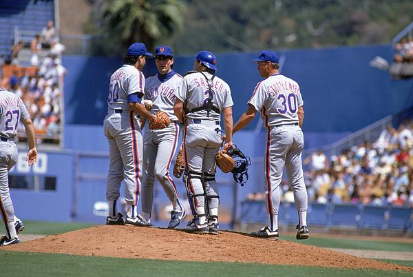 New York Mets Photograph by Bernstein Associates