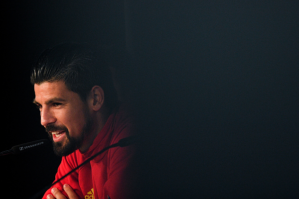 Spain Training Session and Press Conference Photograph by David Ramos