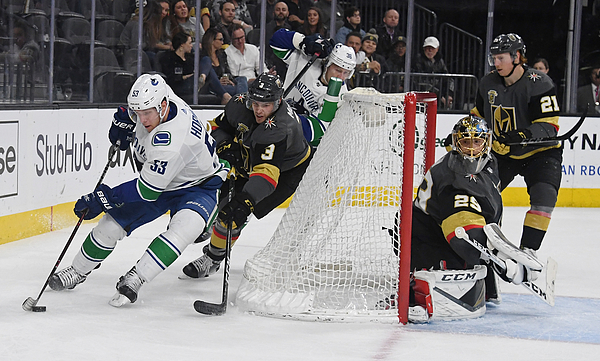 Vancouver Canucks v Vegas Golden Knights Photograph by Ethan Miller