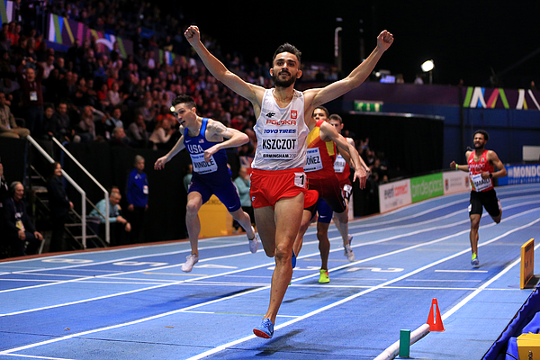 IAAF World Indoor Championships - Day Three Photograph by Stephen Pond