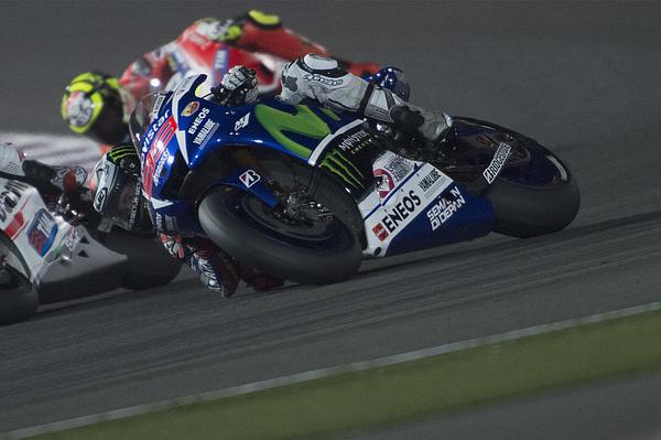 MotoGp of Qatar - Race Photograph by Mirco Lazzari gp