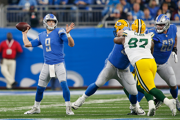 NFL: DEC 31 Packers at Lions Photograph by Icon Sportswire