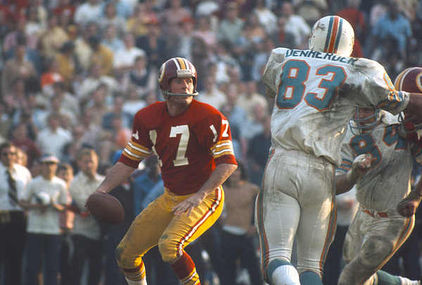 Super Bowl Vii - Washington Redskins V Miami Dolphins Photograph by Focus On Sport