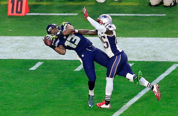 Super Bowl XLIX - New England Patriots v Seattle Seahawks Photograph by Jamie Squire