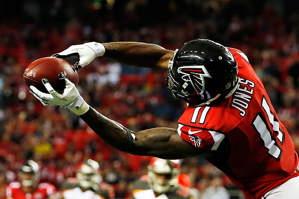 Tampa Bay Buccaneers v Atlanta Falcons Photograph by Kevin C. Cox