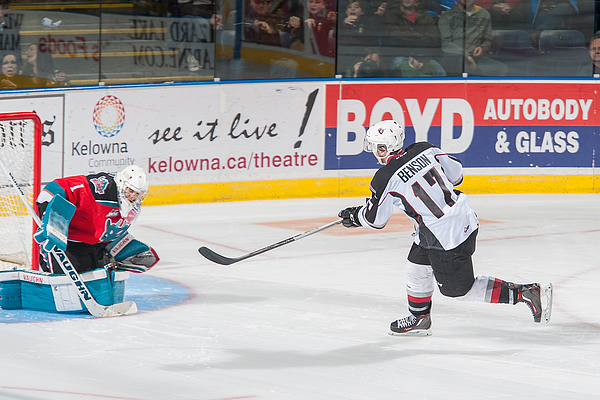 Vancouver Giants v Kelowna Rockets Photograph by Marissa Baecker