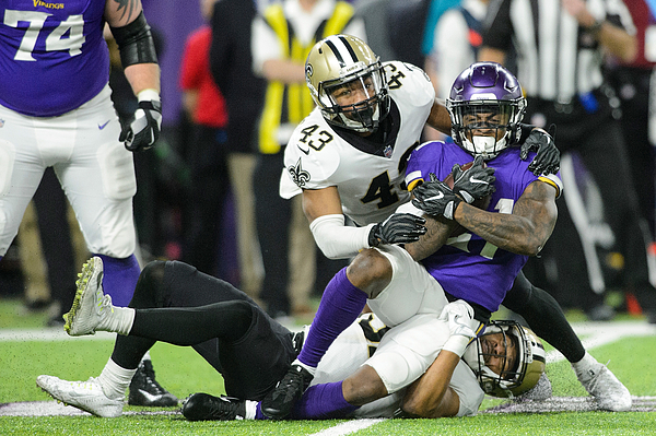 Divisional Round - New Orleans Saints V Minnesota Vikings Photograph by Hannah Foslien