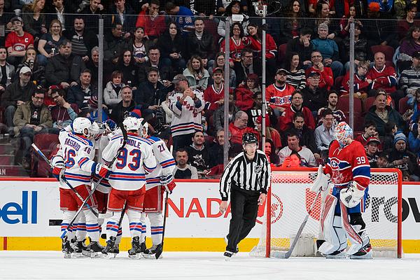 New York Rangers v Montreal Canadiens Photograph by Minas Panagiotakis