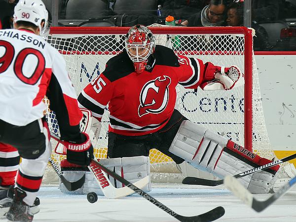 Ottawa Senators v New Jersey Devils Photograph by Bruce Bennett