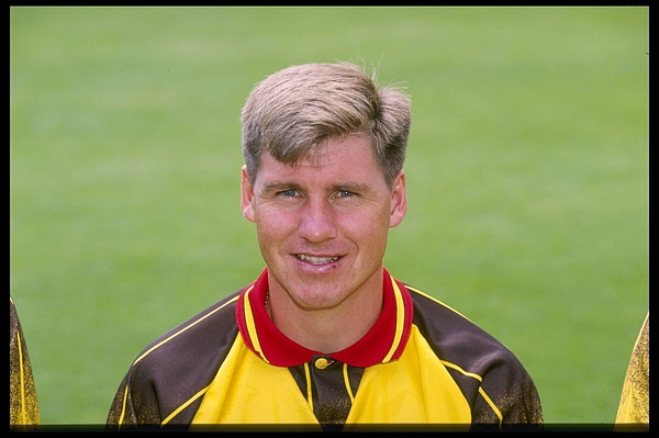 A portrait of Nigel Gibbs of Watford Photograph by Getty Images