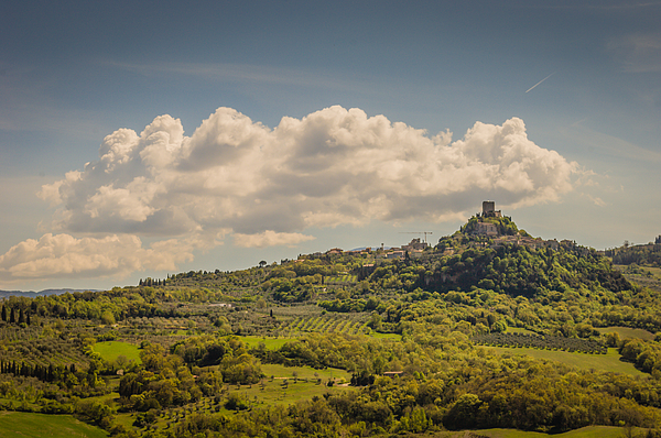 A small town in the Siena province Photograph by Jakob Montrasio