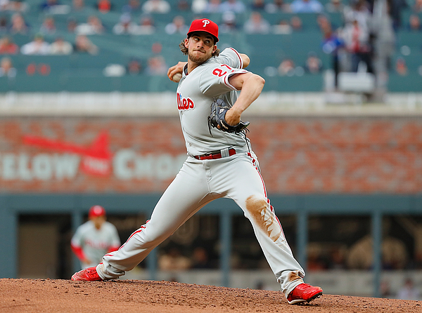 Aaron Nola Photograph by Kevin C. Cox