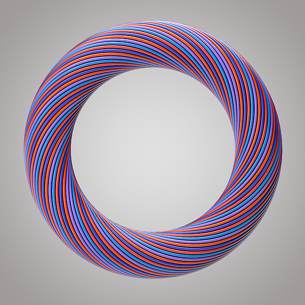 Abstract ring Photograph by Liyao Xie