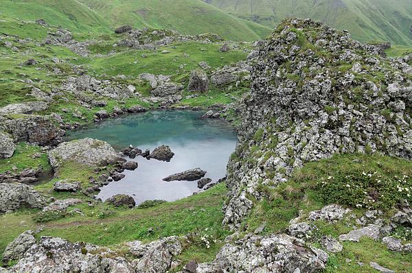 Abudelauri Lakes, Georgia Photograph by Vyacheslav Argenberg