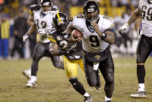 AFC Wild Card Game: Jacksonville Jaguars v Pittsburgh Steelers Photograph by George Gojkovich