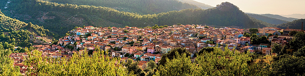 Agiasos traditional settlement panorama Photograph by Photo By Dimitrios Tilis