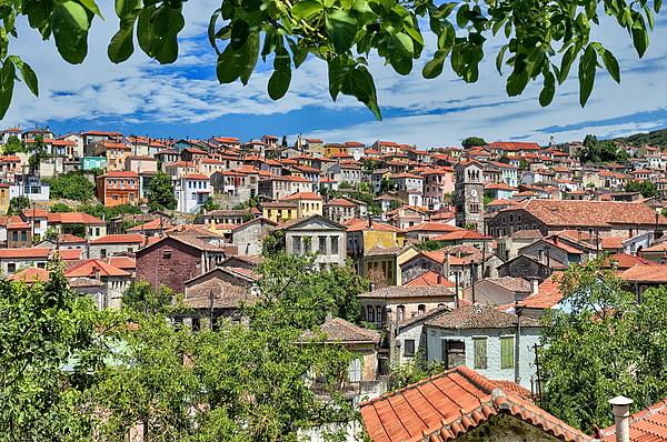 Agiasos traditional settlement Photograph by Photo By Dimitrios Tilis