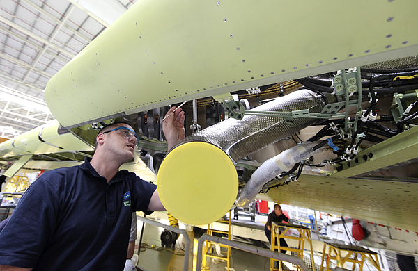 Airbus Production At U.K. Factory Photograph by Bloomberg