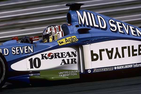 Alexander Wurz, Grand Prix Of Austria Photograph by Paul-Henri Cahier