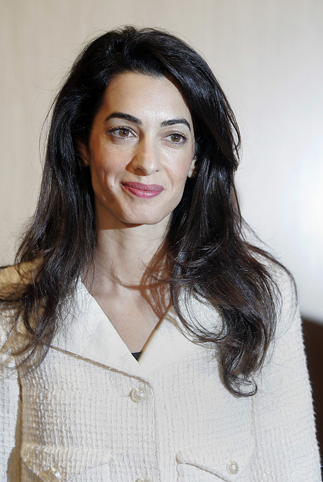 Amal Alamuddin Clooney Advises On Return Of Parthenon Marbles Photograph by Milos Bicanski