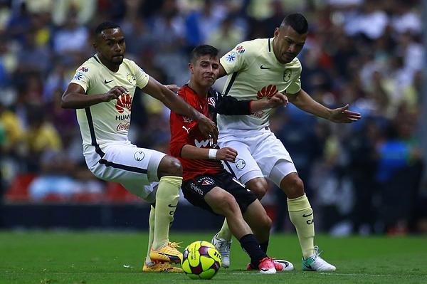 America V Atlas - Torneo Clausura 2017 Liga Mx Photograph by Miguel Tovar