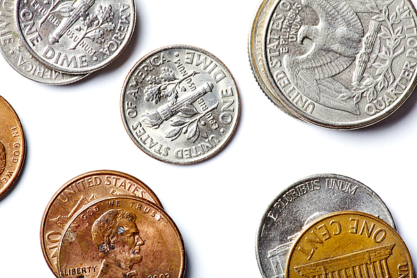 American Coins Photograph by Joseph Clark