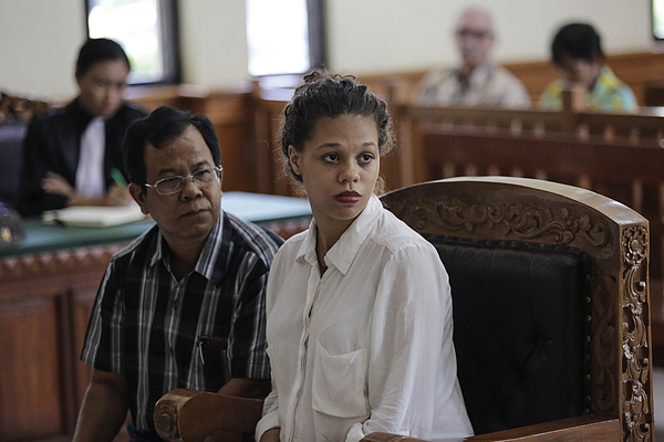 American Couple Accused Of Murdering Mother Stand Trial In Bali Court Photograph by Agung Parameswara